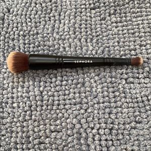 Sephora double sided face and concealer brush